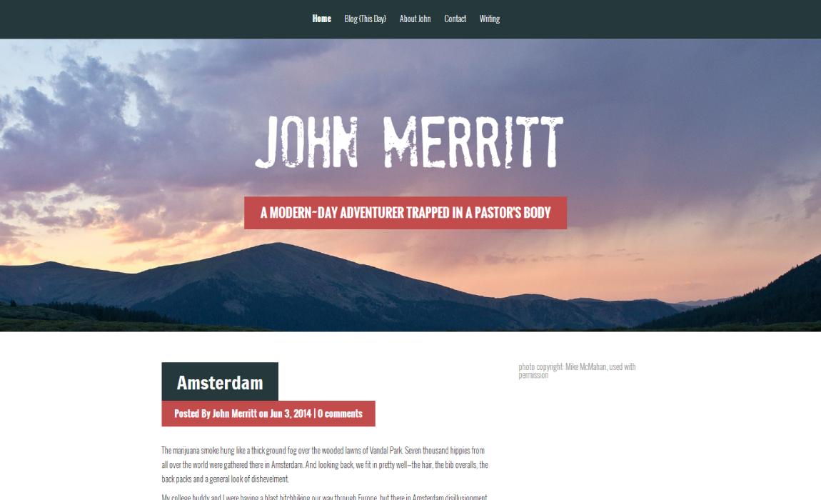Pastor John Merritt